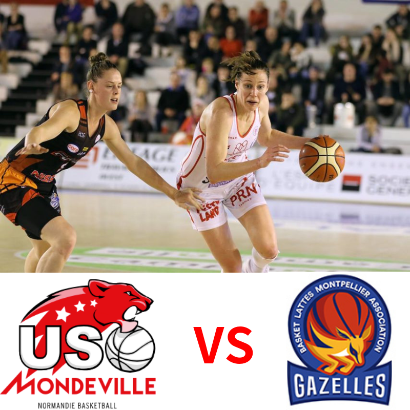 Assistez au match USO MONDEVILLE contre BASKET LATTES MONTPELLIER