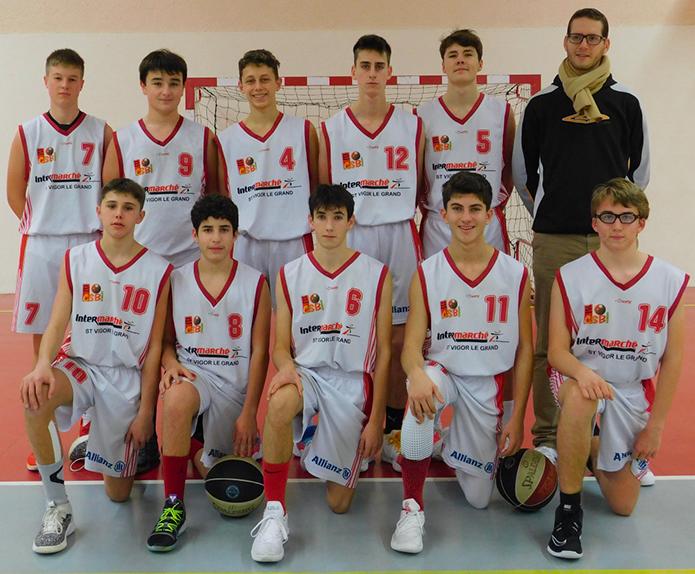 CADET 1 (U17M1) | Cercle Sportif Bayeux Basket | CSB | Club