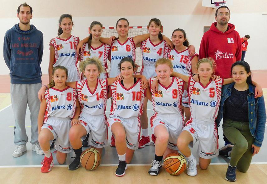 MINIMES F (U15F) | Cercle Sportif Bayeux Basket | CSB | Club