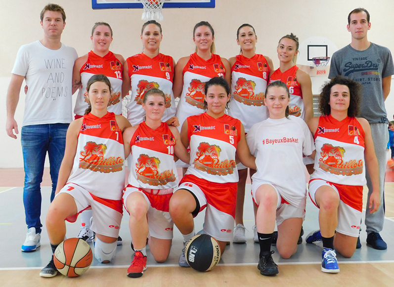 PRE NATIONALE FEMININE (PNF) | Cercle Sportif Bayeux Basket