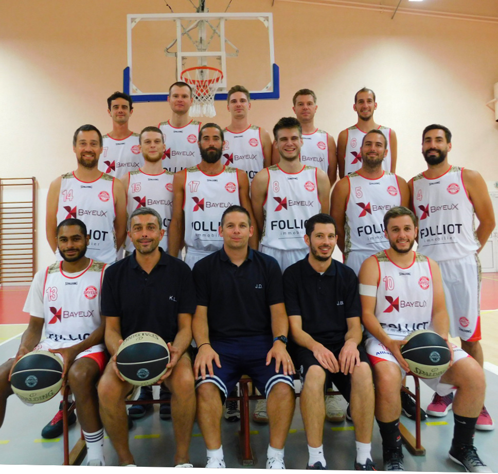 NATIONALE 3 MASCULINE (N3M) - CERCLE SPORTIF BAYEUX BASKET