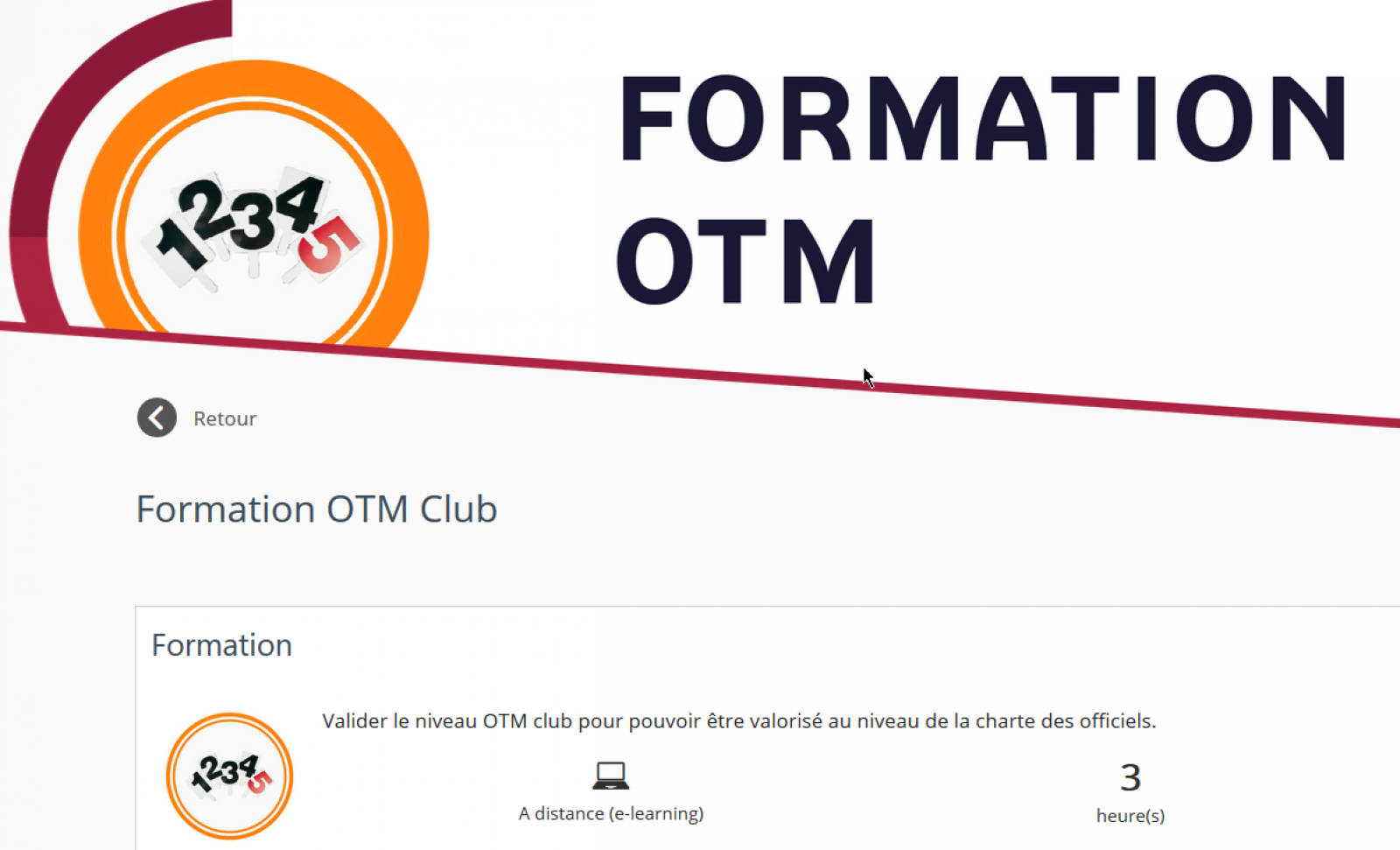 Formation OTM CLUB